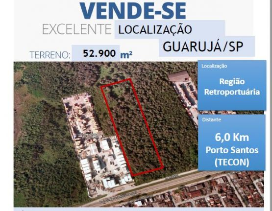 Terreno para alugar, Jardim Conceiçãozinha (Vicente de Carvalho) Guarujá - SP Foto 1