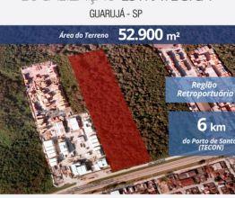 Terreno para alugar em Guarujá